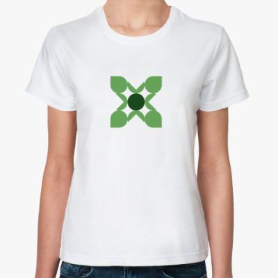 Классическая футболка  'Клевер'