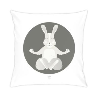 Подушка Animal Zen: R is for Rabbit