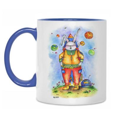 Кружка Кролик отправляется в космос