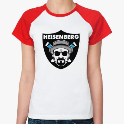 Женская футболка реглан Heisenberg Raiders