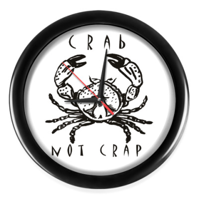 Настенные часы Краб