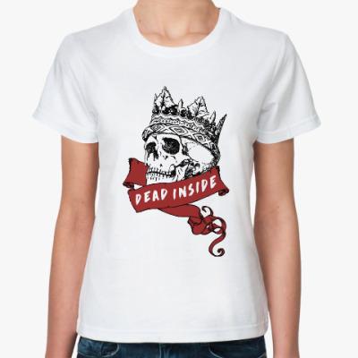 Классическая футболка Мертва в душе