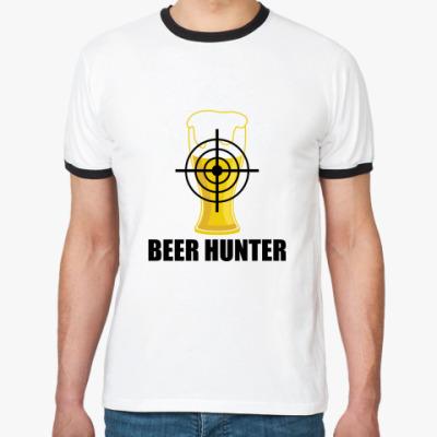 Футболка Ringer-T Beer Hunter