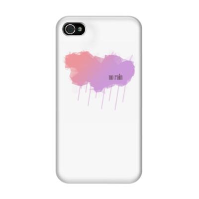 Чехол для iPhone 4/4s No rain