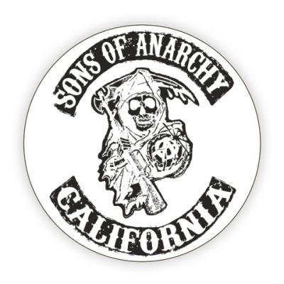 Костер (подставка под кружку) Сыны Анархии - Калифорния