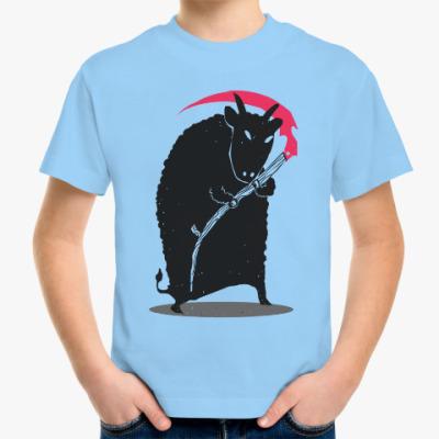 Детская футболка Мрачный убийца