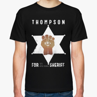 Футболка Sheriff Thompson