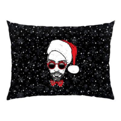 Подушка Хипстер Санта