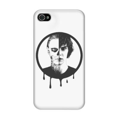 Чехол для iPhone 4/4s Эван Питерс(Evan Peters)/AHS