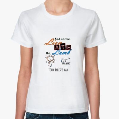 Классическая футболка Lionatelamb