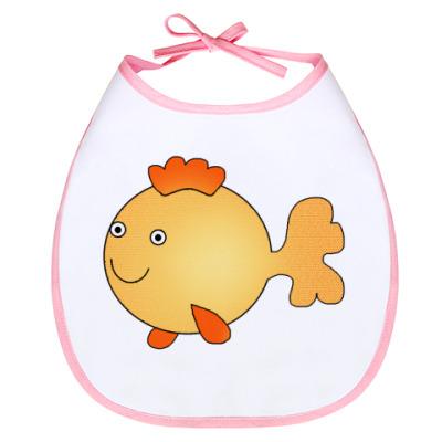 Слюнявчик Золотая рыбка