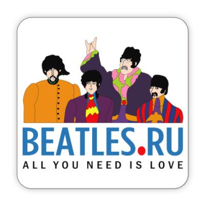 Костер (подставка под кружку) Подставка Beatles.ru