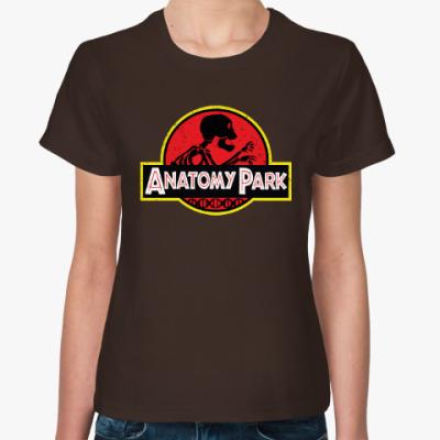 Женская футболка Anatomy Park