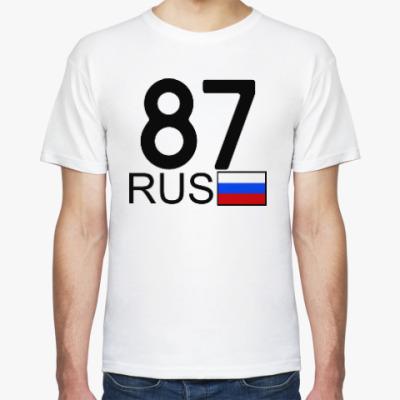 Футболка 87 RUS (A777AA)