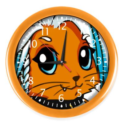 Настенные часы Рыжая new