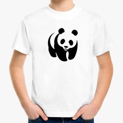 Детская футболка WWF. Панда