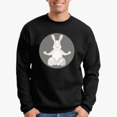 Свитшот Animal Zen: R is for Rabbit