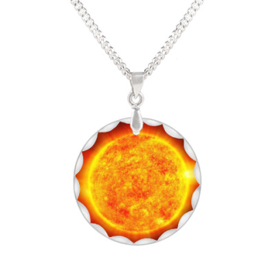 Кулон Geo Sun