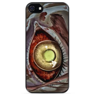 Чехол для iPhone Глаз зомби