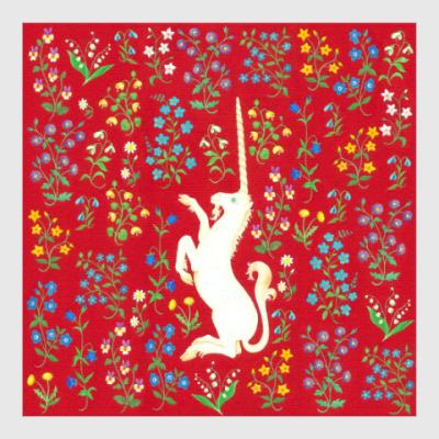 Постер Волшебный единорог