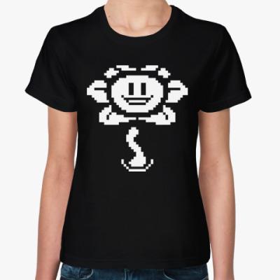 Женская футболка Цветок из Марио