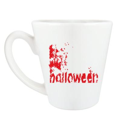 Чашка Латте Happy Halloween!