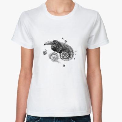 Классическая футболка  Кукаду