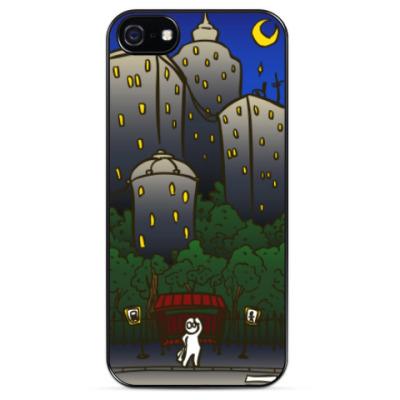 Чехол для iPhone Ночной город