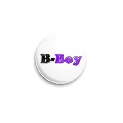Значок 25мм B-Boy