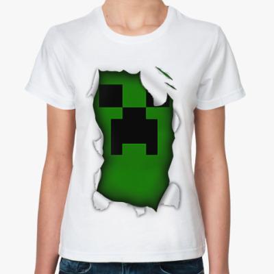 Классическая футболка Minecraft