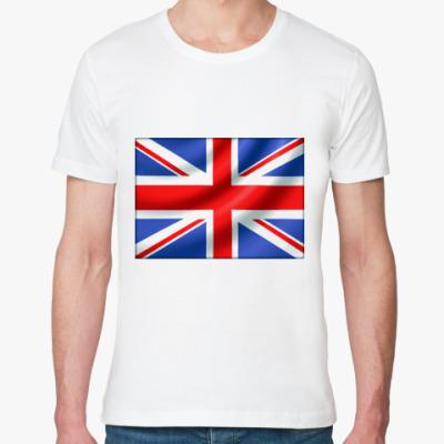 Футболка из органик-хлопка UK