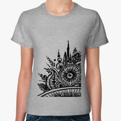 Женская футболка Букет луговых трав