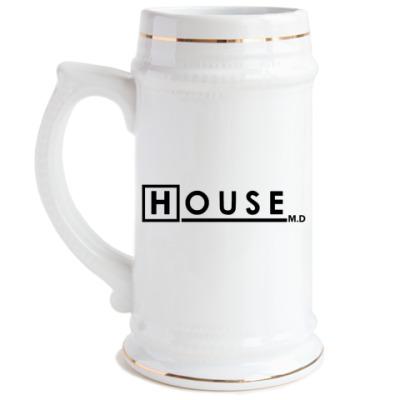 Пивная кружка  House M.D
