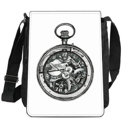 Сумка-планшет Часы