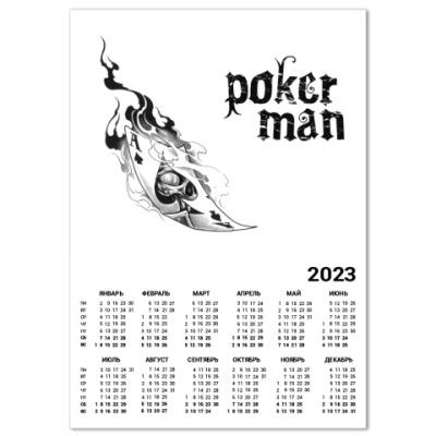 Календарь Poker
