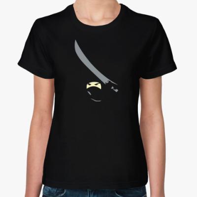 Женская футболка Ниндзя