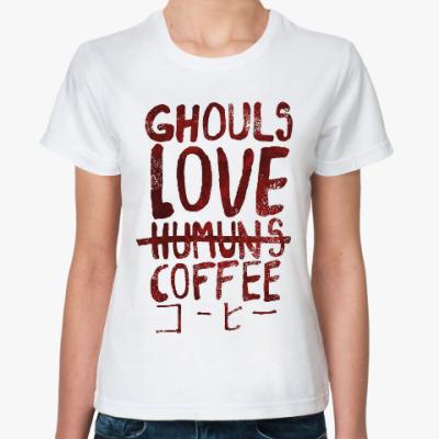 Классическая футболка Tokyo Ghoul