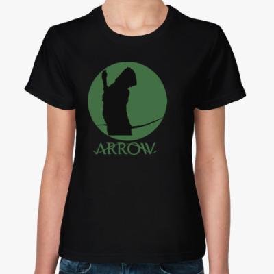 Женская футболка стрела