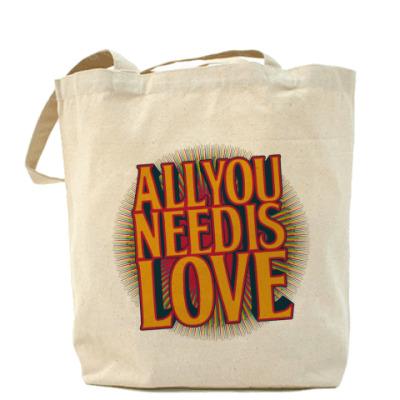 Сумка All you need is LOVE