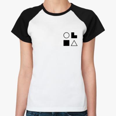 Женская футболка реглан  СЭИ (Дюма)