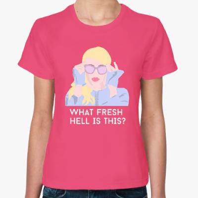 Женская футболка Королевы крика