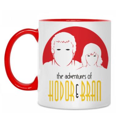 Кружка Hodor & Bran