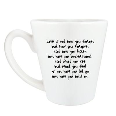 Чашка Латте What is Love?