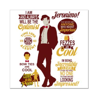 Наклейка (стикер) Doctor Who 11