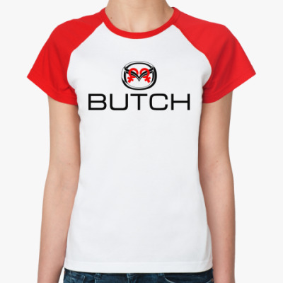 Женская футболка реглан  Буч