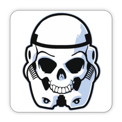 Костер (подставка под кружку) Trooper Skull