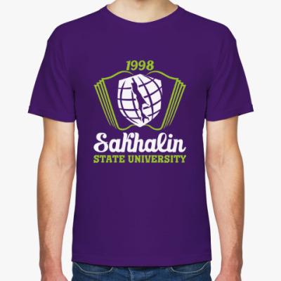 Футболка СахГУ Сахалинский университет