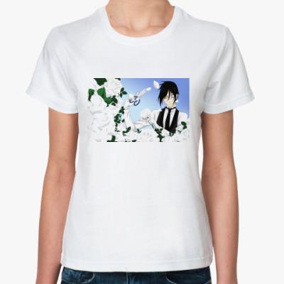 Классическая футболка Kuroshitsuji