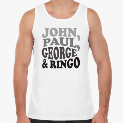 Майка John.Paul.George&Ringo (мужск)