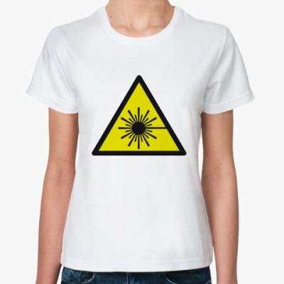 Классическая футболка Лазерное излучение